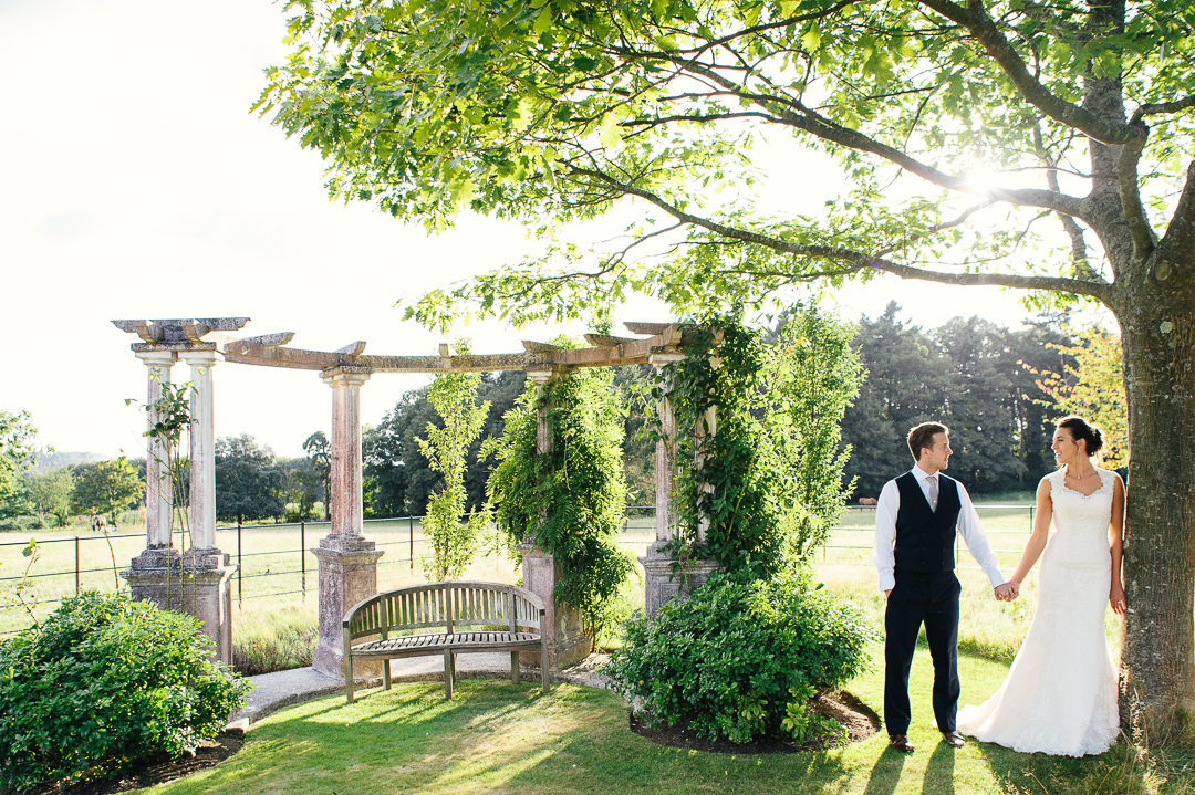 magic light elegant navy blue wedding