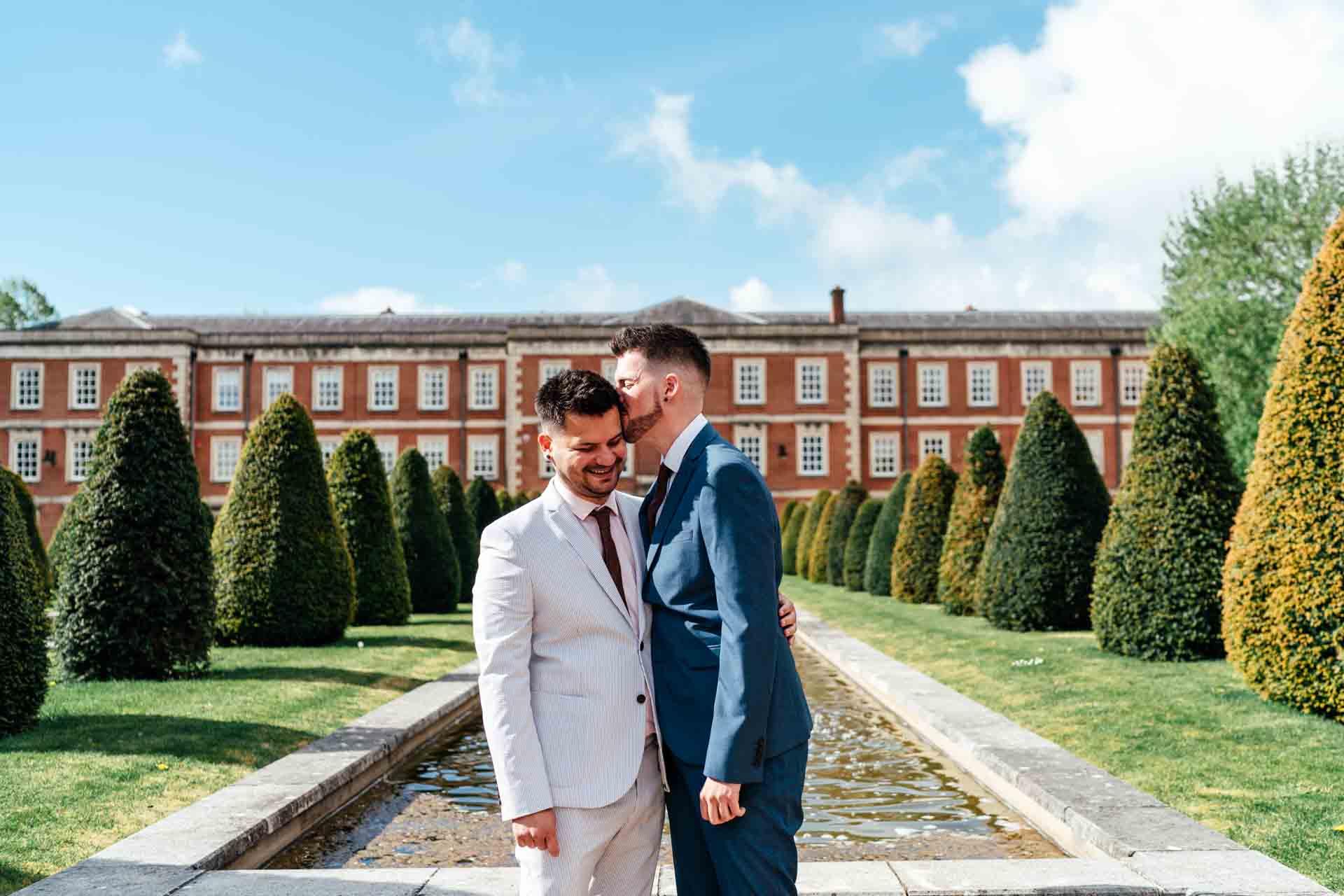Winchester Registry Office same sex wedding