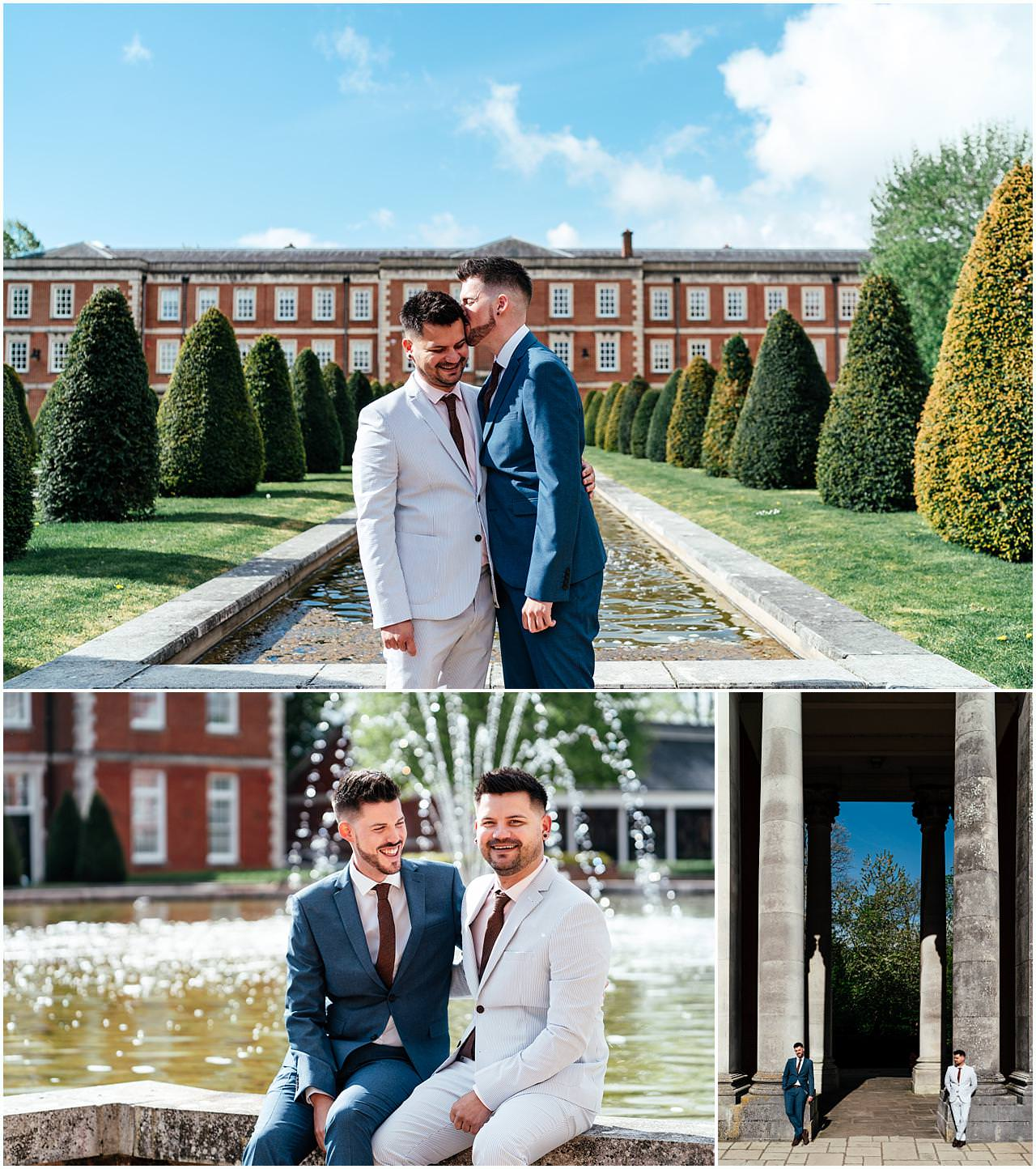 Winchester same sex Wedding at the Barracks