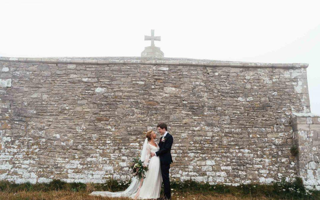 St Aldhelm's Chapel wedding // Jess + Fraser